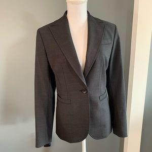 Ann Taylor Charcoal Blazer/Jacket~Size 8